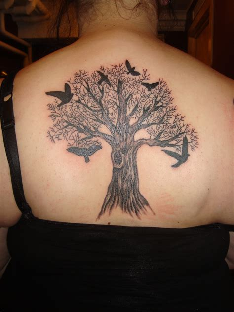 tattoo design on back for female tree tattoos designs ideas and meaning tattoos for you