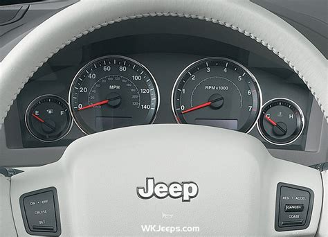2005 Jeep Grand Malfunction Indicator Light Jeep Grand Wk Instrument Cluster And Gauges