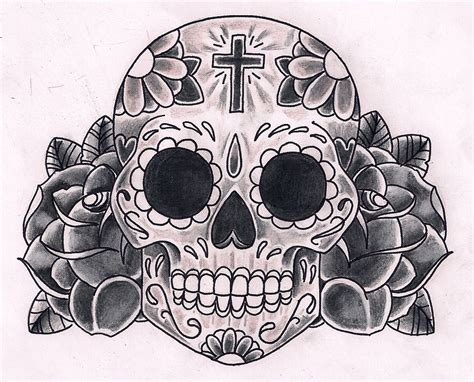 sugar skull tattoo designs tumblr gallery sugar skull designs