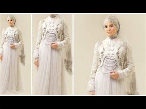 desain baju hijab terbaru desain baju hijab pengantin muslimah terbaru 2015 youtube