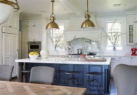 fresh design ideas a blue and white kitchen