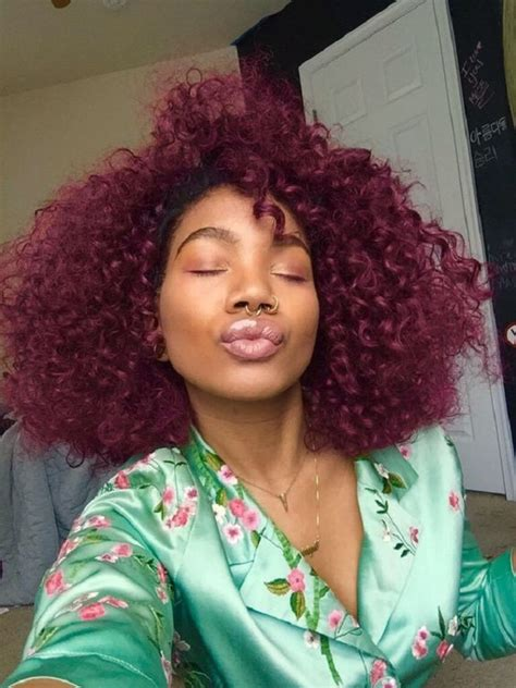 coloring gray hair red afro hair trends 2016 afro hair afro red hair hergivenhair
