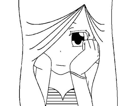 imagenes de amor triste para dibujar desenho de tristeza para colorir colorir com