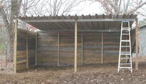 Build A Cheap Shed by Loafing Shed