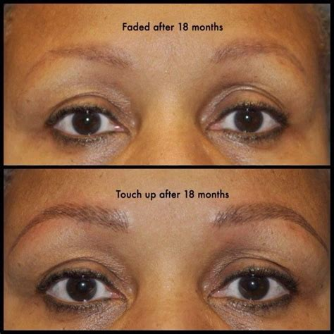 Eyebrow Tattoo Fading Process | 294 best images about heidi cosmetic tattoo artist on