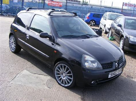renault clio 2002 black used renault clio for sale under 163 1000 autopazar