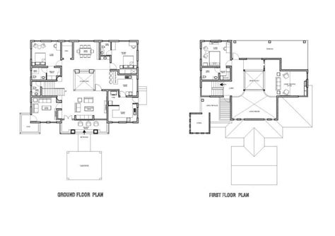 ground and first floor plans new ground floor first floor home plan new home plans design