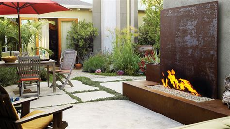 Garden Ideas And Outdoor Living Magazine Ideas For Pits Sunset