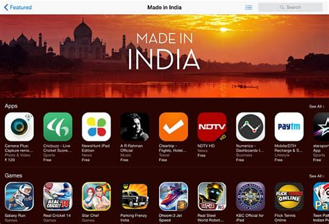 apple highlights   india apps  games   app