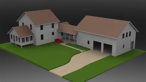 solidworks home design house and garage