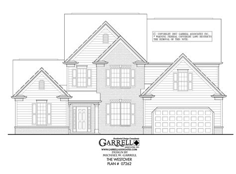 westover house plan westover house plan house plans by garrell associates inc