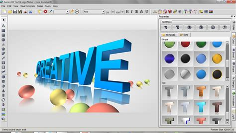 3d text design software free 3d text logo maker arch 237 v pr 237 spevkov 2007 2016