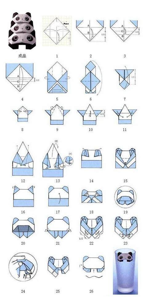 How To Make A Paper Panda - panda origami el papel ese gran invento paper