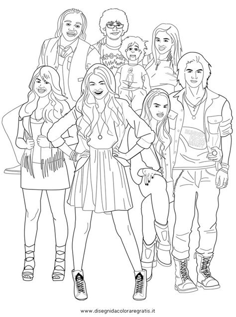 victorious coloring pages printable free coloring pages of nickelodeon victorious