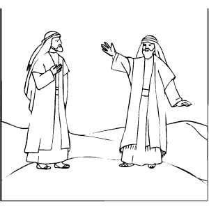 coloring page of abraham and lot abraham and lot ministry pinterest sunday school