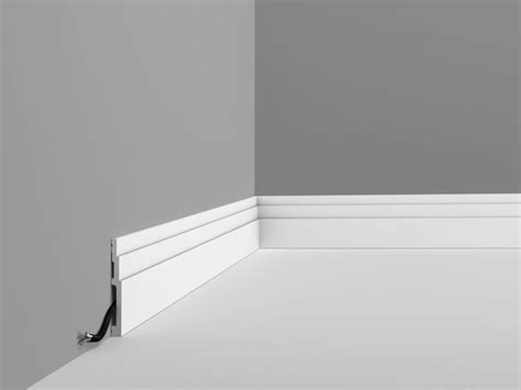 Deckenleisten Modern by Stucco Mouldings Highline Skirting Board Sx180f