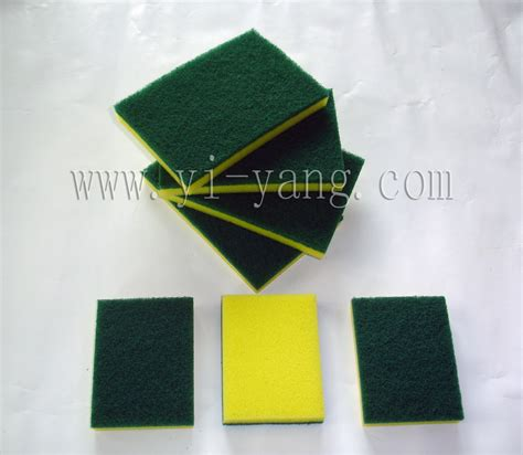 Kitchen Scrubbers sell kitchen sponge scrubber yiyang commodity factory
