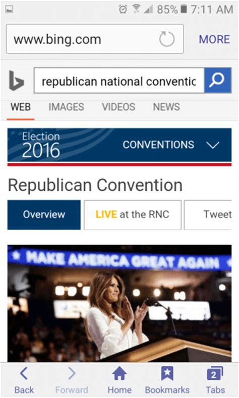 mobile search engine brings national convention search tools to desktop
