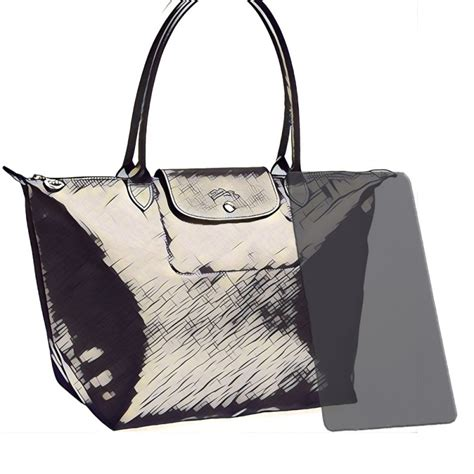 Tas Longch Original Le Pliage Neo Medium Pearl longch acrylic bag base shaper bag bottom shaper