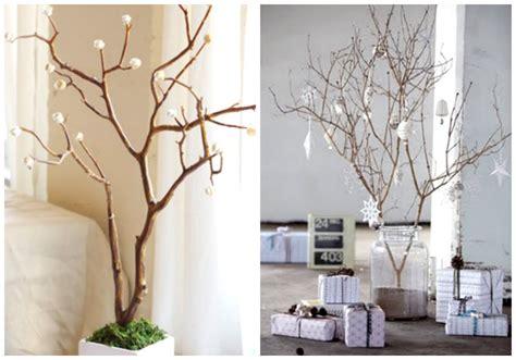 decorar ramas secas para navidad de arbol ideas e inspiraci 243 n para decorar en navidad