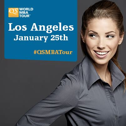 Mba Tour Los Angeles by Qs World Mba Tour Los Angeles Apply For 1 7m In Mba