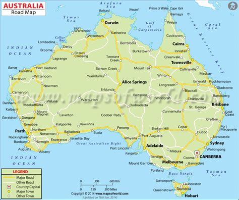 driving map of australia map of australia outravelling maps guide