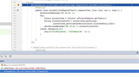 layoutinflater inflate parameters android 191 por qu 233 setonitemclicklistener en listview no