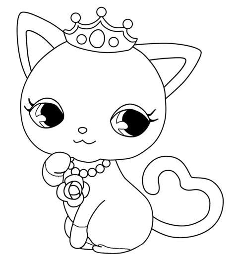 coloriage de chaton a imprimer az coloriage chaton 61 animaux coloriages 224 imprimer