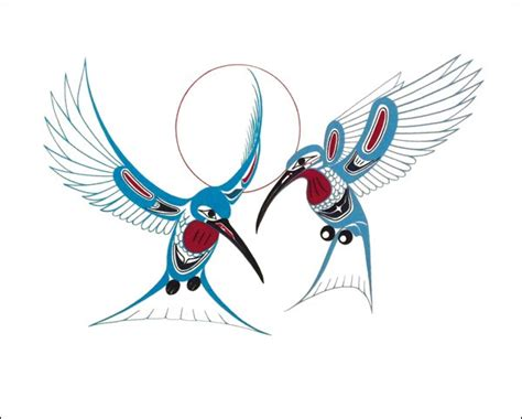 collection of 25 native american hummingbird tattoo design