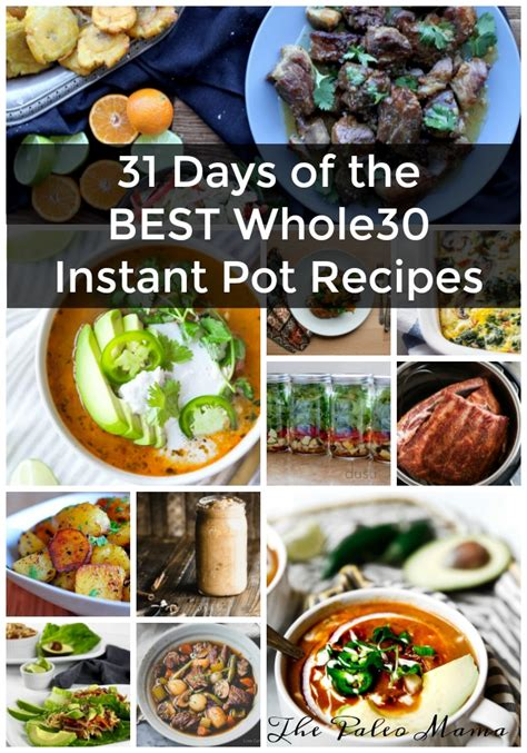 instant pot whole 30 cookbook 2018 whole 30 instant pot cookbook with healthy delicious instant pot cooker recipes books the paleo
