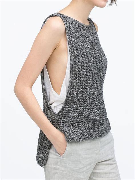knit vest 25 best ideas about knit vest pattern on knit