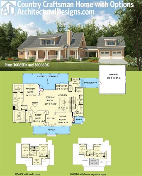 home expansion plans media rooms house plans and craftsman on pinterest
