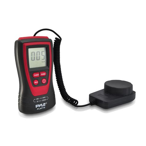 handheld light meter for photography sound around pyle plmt12 handheld lux light meter photometer