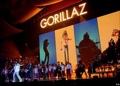 the unofficial biography of coldplay gorillaz go home empty handed at the brits gorillaz news
