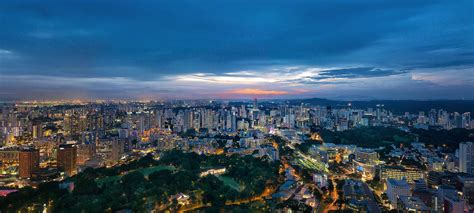 Heritage Home Interiors by Orchard Road Skyline Cityscape Singapore