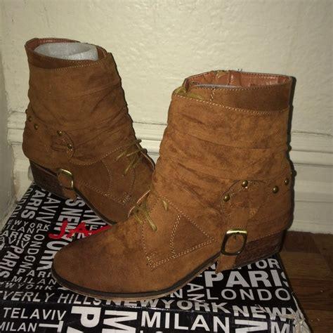 cognac color shoes 39 boots cognac color boots from s closet on