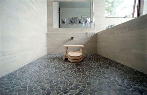 Rock Flooring Bathroom » Modern Home Design