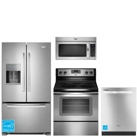 complete kitchen appliance packages whirlpool gi6farxxy ss stainless steel complete kitchen