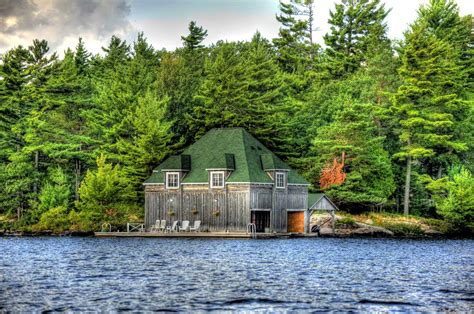 boat house ca boathouse on wasan island muskoka blog
