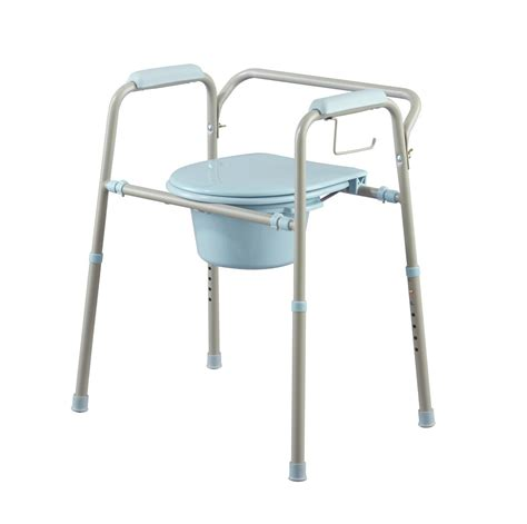 Steel Commode by Steel Commode With Microban Careway Wellness Center
