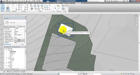 how to create a site plan revit 2014 setup a site plan youtube