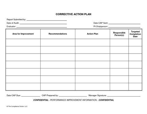 Plan Template Daily Action Plan Template Oninstall