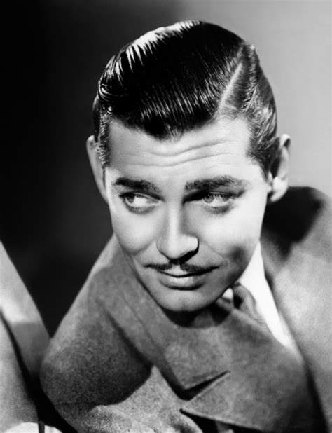 Which hairstyle is better on Clark Gable? Poll Results