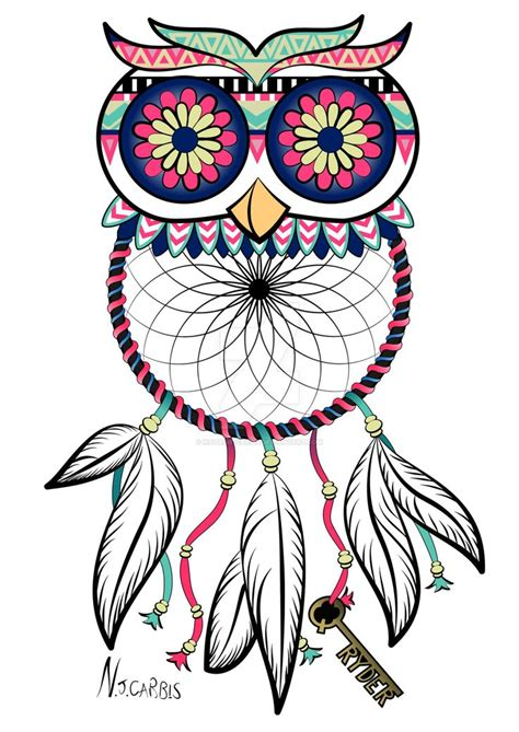design of dream catcher best 25 owl dreamcatcher tattoo ideas on pinterest