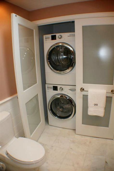 laundry in bathroom ideas laundry nook ideas we easy diy ideas from involvery