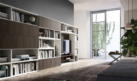 Modern Living Room Units by Living Room Wall Units And Libraries Ideas