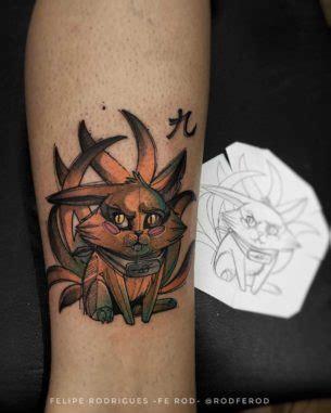 naruto tribal tattoo animal tattoos best ideas gallery