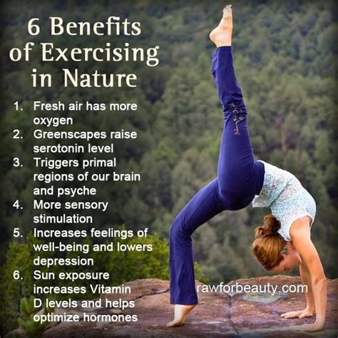 6 Advantages Of Staying At 6 Benefits Of Exercising In Nature Shift
