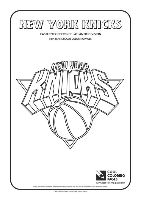 knicks basketball coloring pages cool coloring pages nba teams logos new york knicks