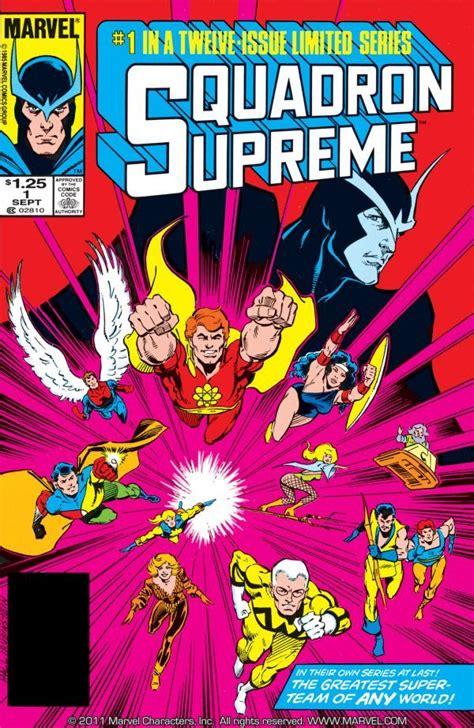squadron supreme squadron supreme vol 1 marvel database fandom powered
